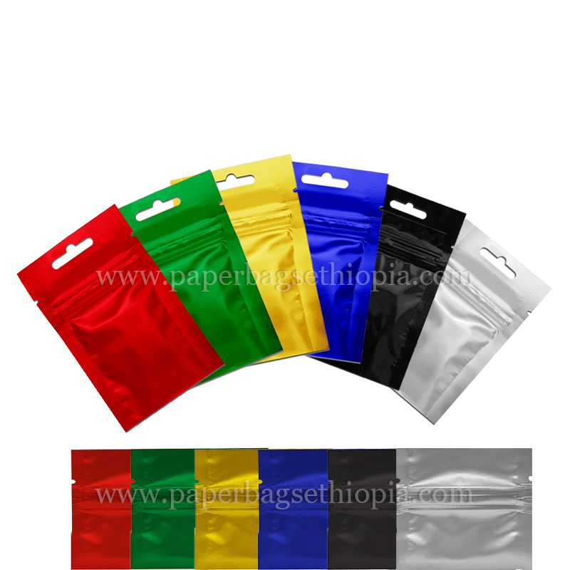 THREE SIDE SEAL BAGS/FLAT POUCH