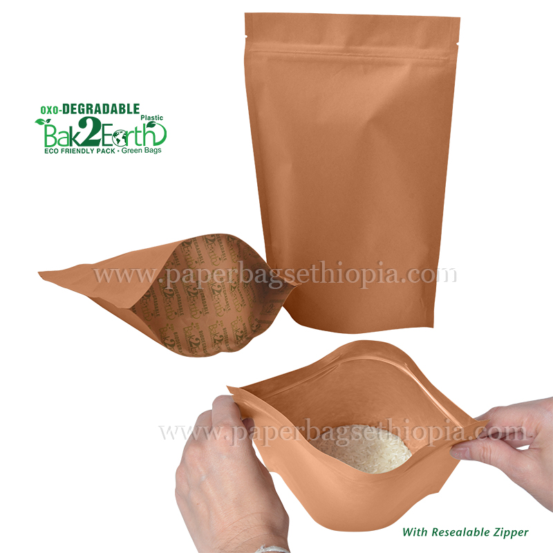 STOCK BIODEGRADABLE PACKAGES