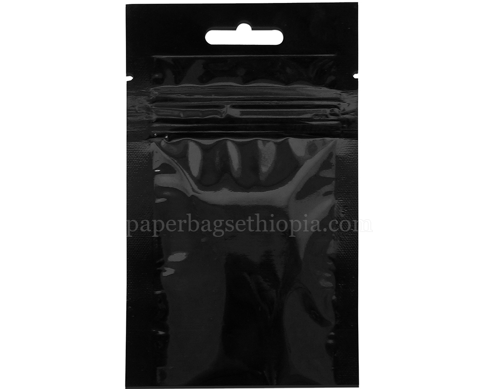 3 gm green three side seal bag