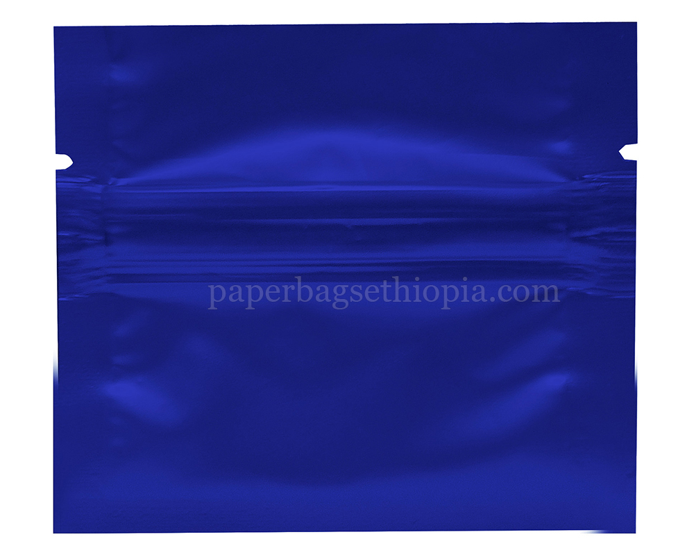 1 gm blue three side seal bag
