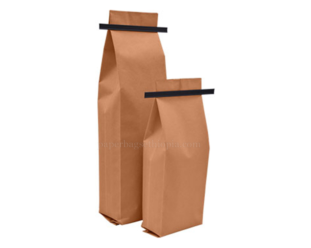 Brown Paper Bags With TinTie