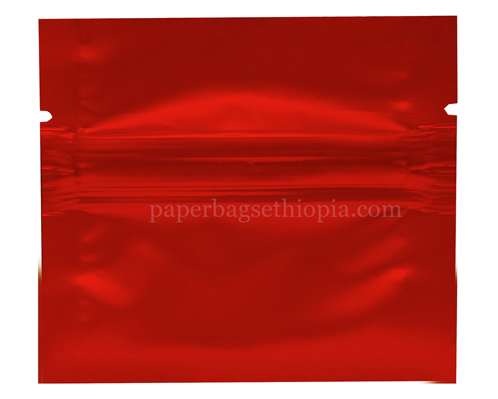 1 gm red three side seal bag