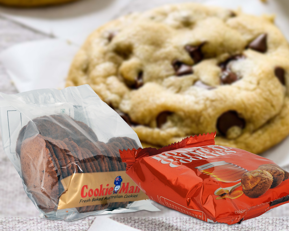 Chocolate Cookies Packaging