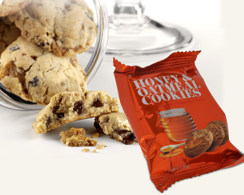 Choco Chips Cookies Packaging