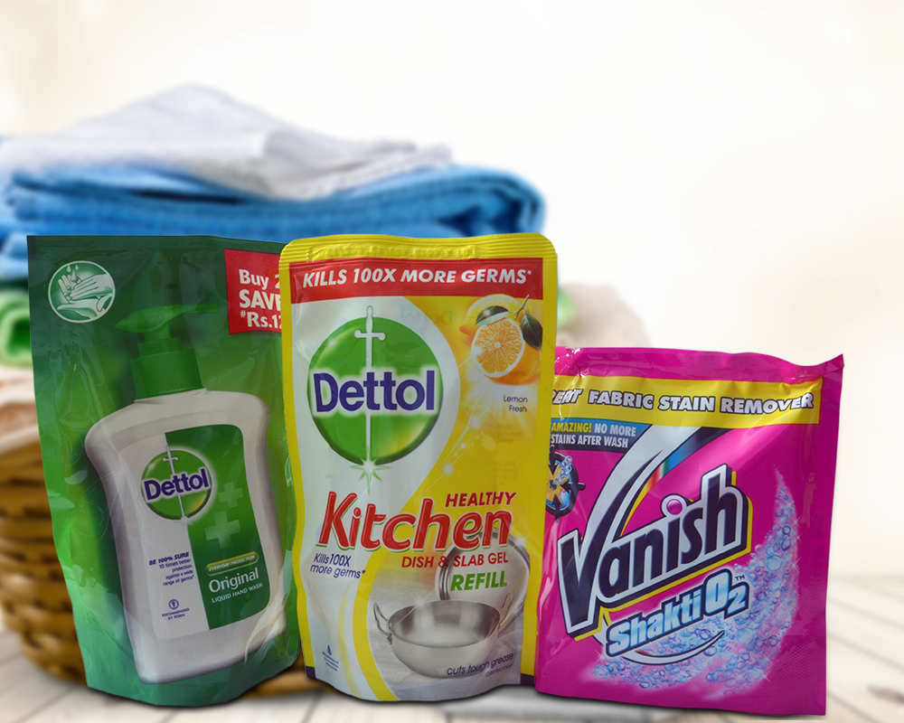 Dish Wash Packaging