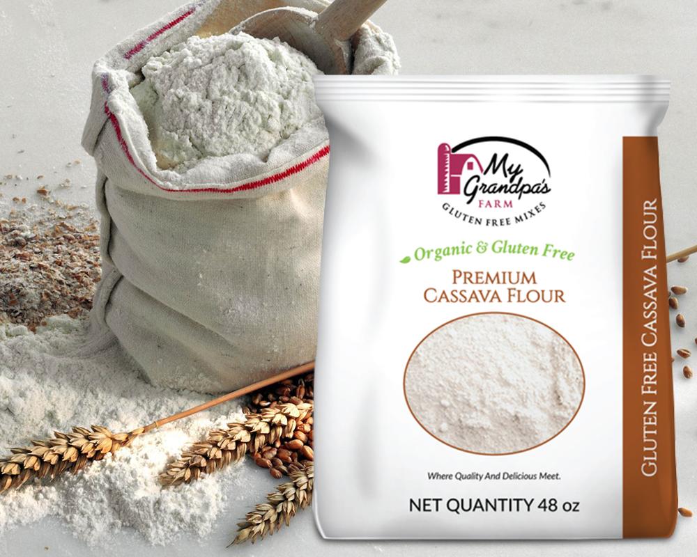 Cassava Flour Packaging
