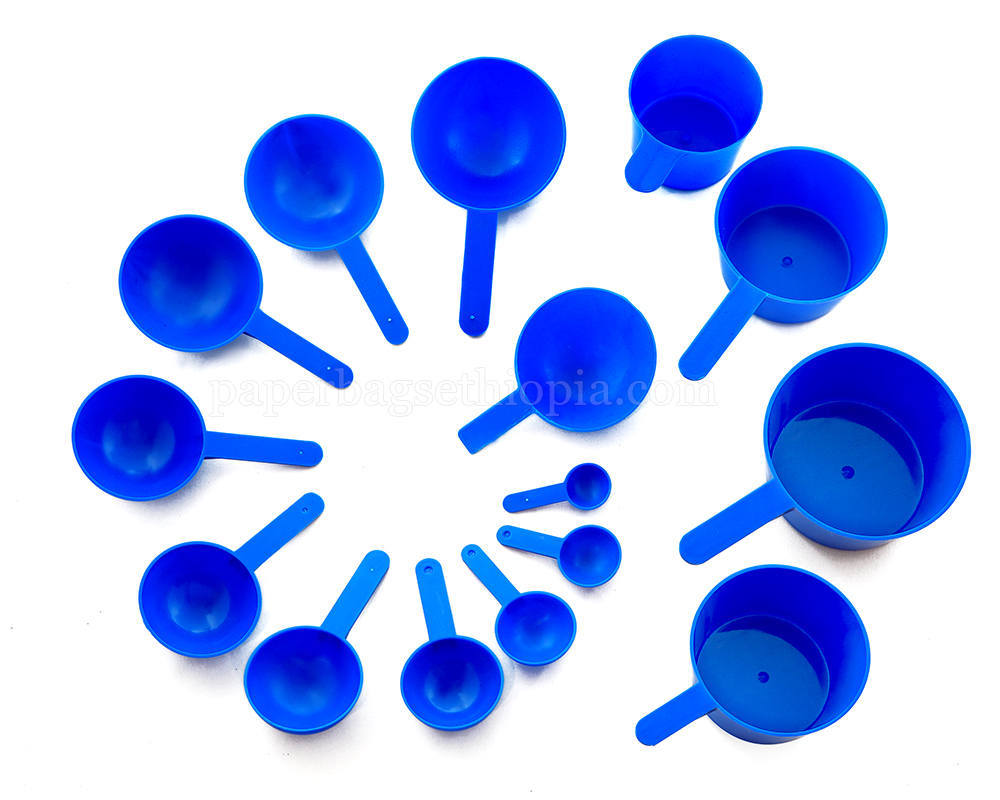 Blue Measuring Scoops