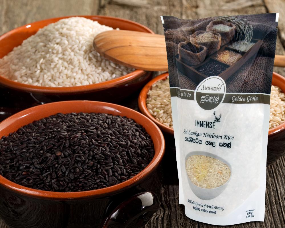 Organic Rice Packaging