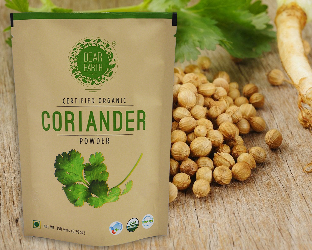 Coriander powder Packaging