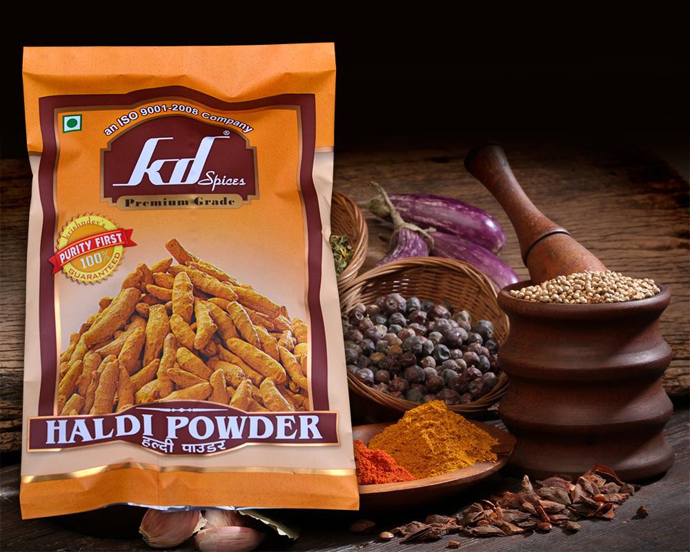 Coriander powder Packaging