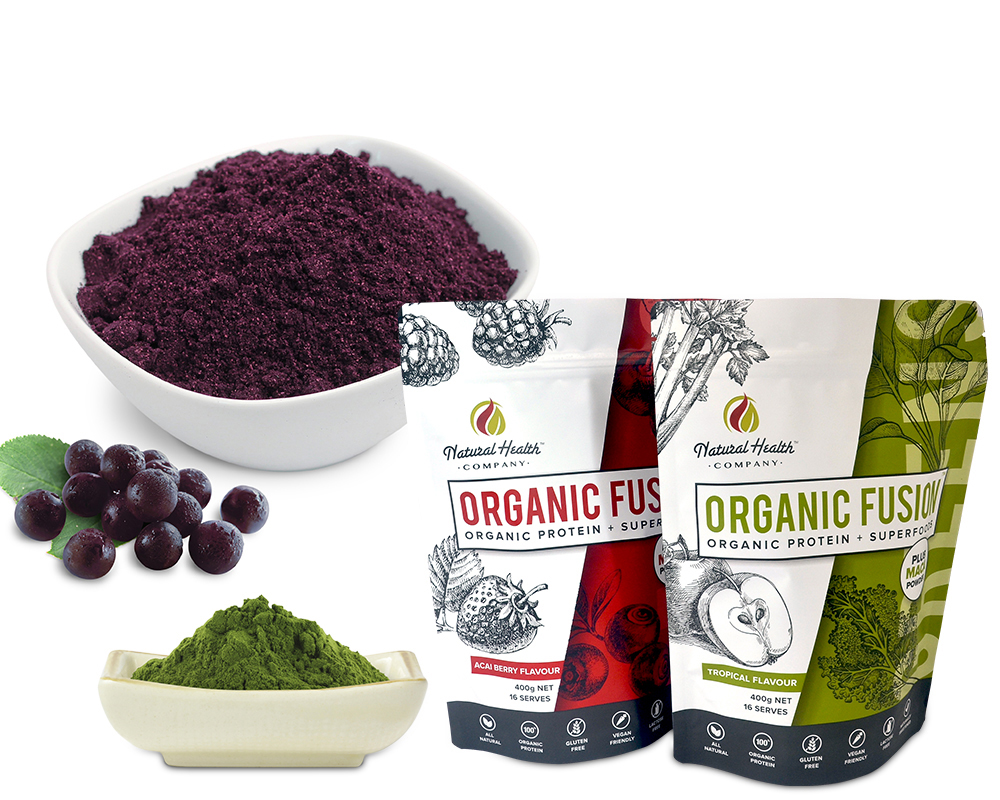 Organic Food Powder Packaging