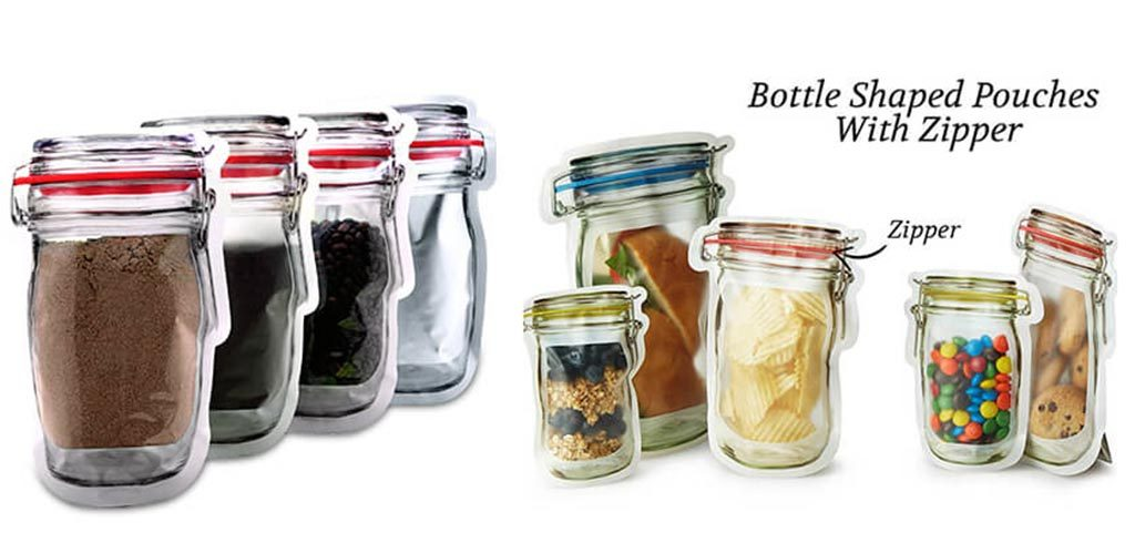 Jar Shaped Pouches 1