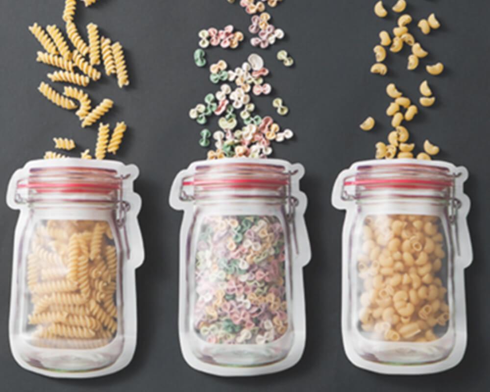 Jar Shaped Pouches
