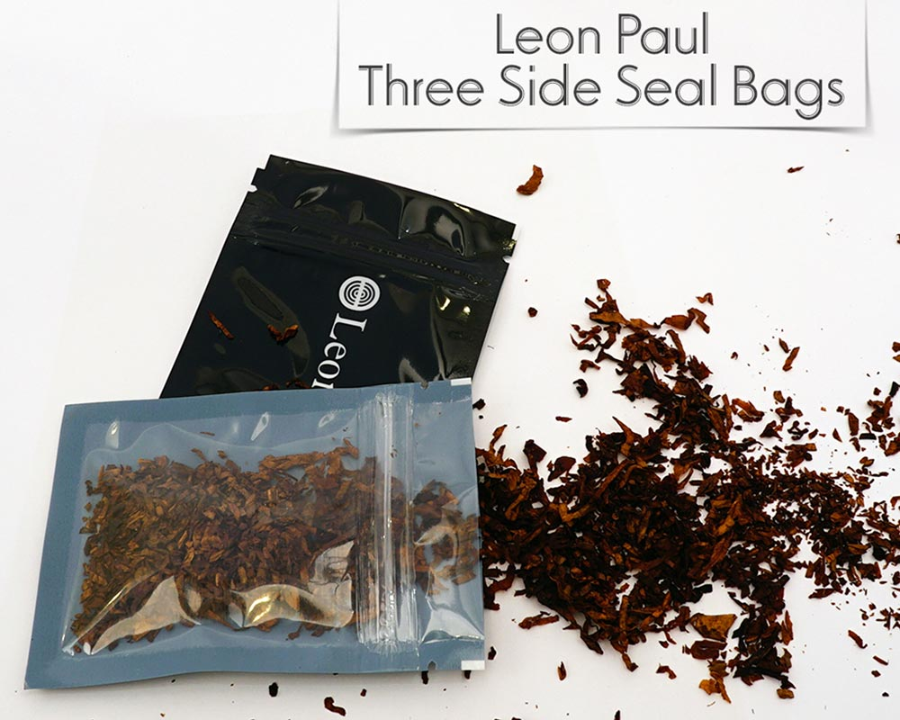 CUSTOM THREE SIDE SEAL BAGS
