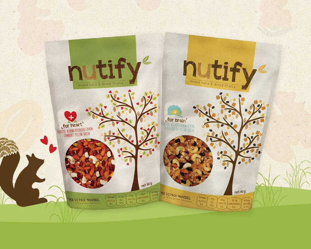 NUTS PACKAGING